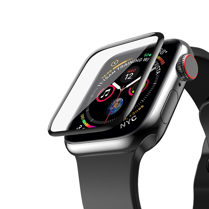 Защитное стекло Hoco для Apple Watch  4 40mm curved high-definition silk screen 20276