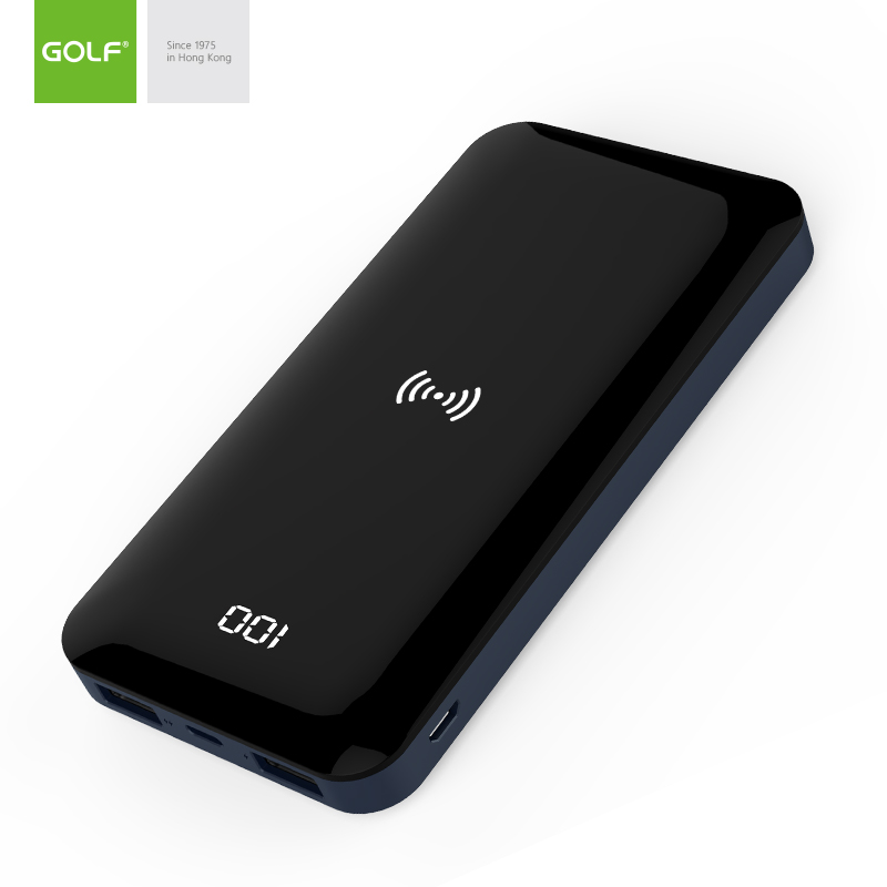 УМБ GOLF wireless full screen display W5 8000mAh |2USB/1lightning, 2.1A| 14528