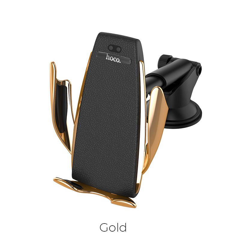 Держатель Hoco автоматический Elegant with wireless charger CA34 13321
