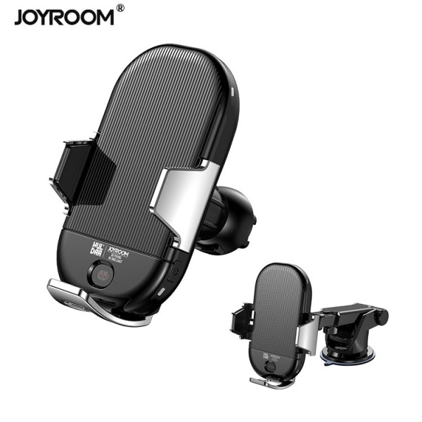 Держатель JOYROOM Автоматический Speedy with wireless charger ZS187 (2 in 1) 13346