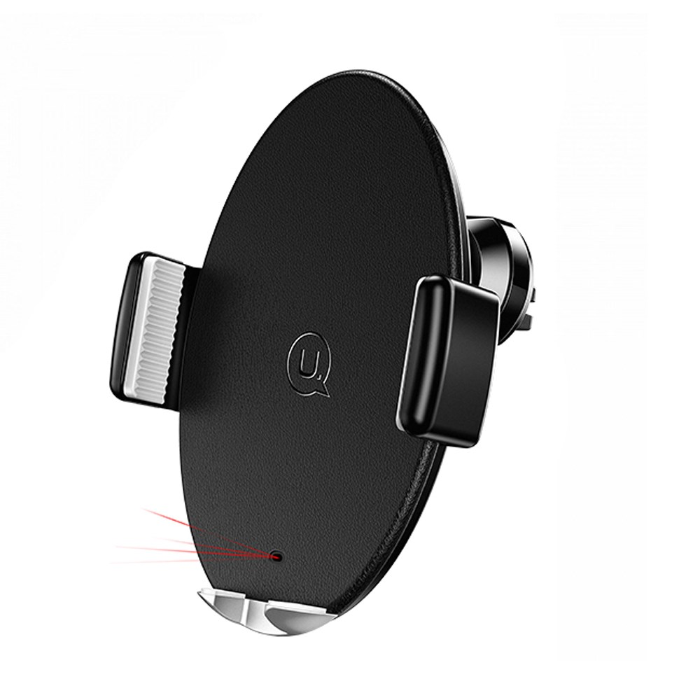 Держатель USAMS Автоматический Intelligent with wireless charger US-CD64 |10W, QC| 13352