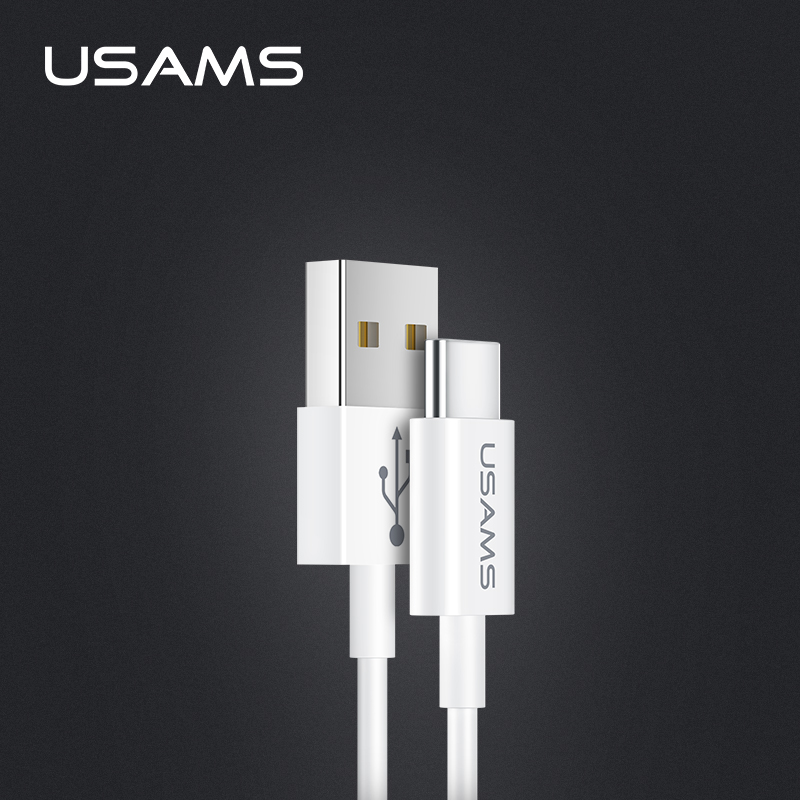 Кабель USAMS Type-C US-SJ285 U23 |1m, 2A| 15961