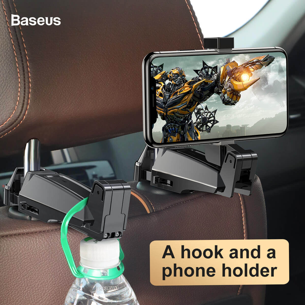 Держатель BASEUS backseat vehicle phone holder hook 13572