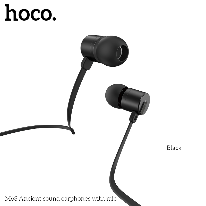 Наушники HOCO with mic Ancient sound universal M63 11761
