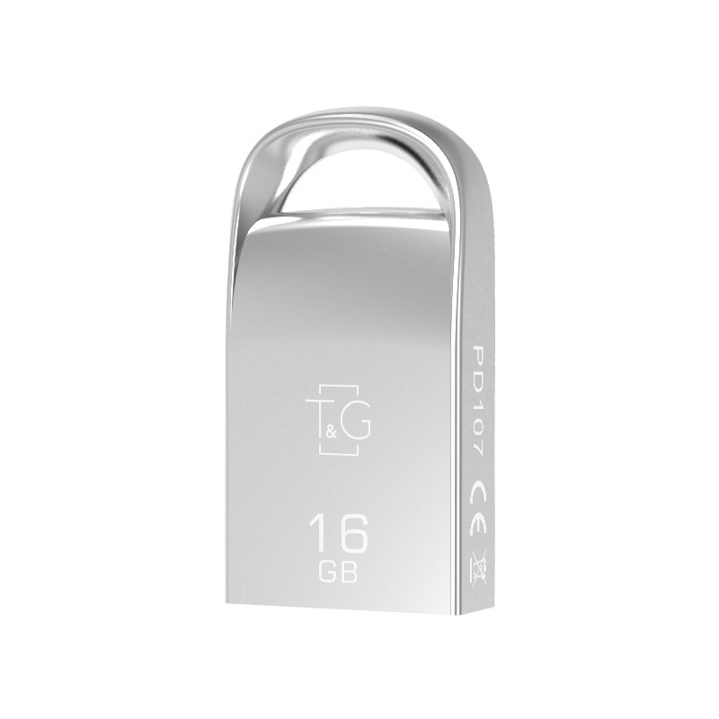 Флешка T&G USB Metal mini design (model 107) 16GB 12380