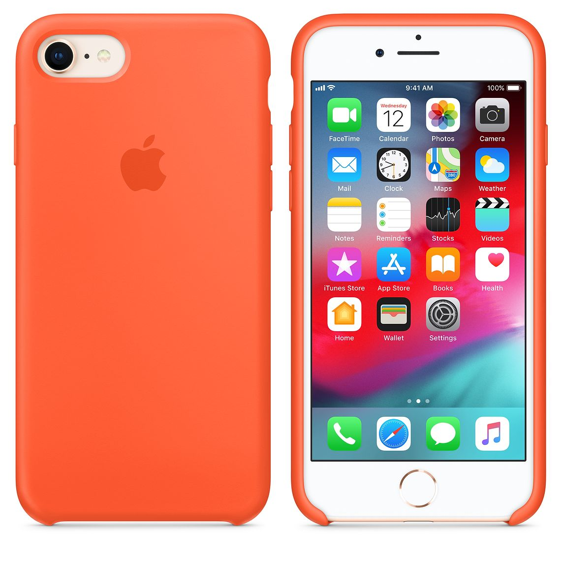 Чехол SIlicone Case (original copy) для iPhone 7/8 20457