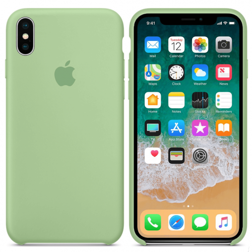 Чехол SIlicone Case (original copy) для iPhone X/XS 20459