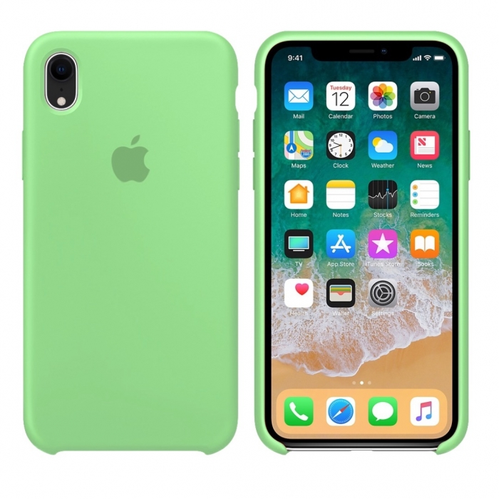 Чехол SIlicone Case (original copy) для iPhone XR 20460