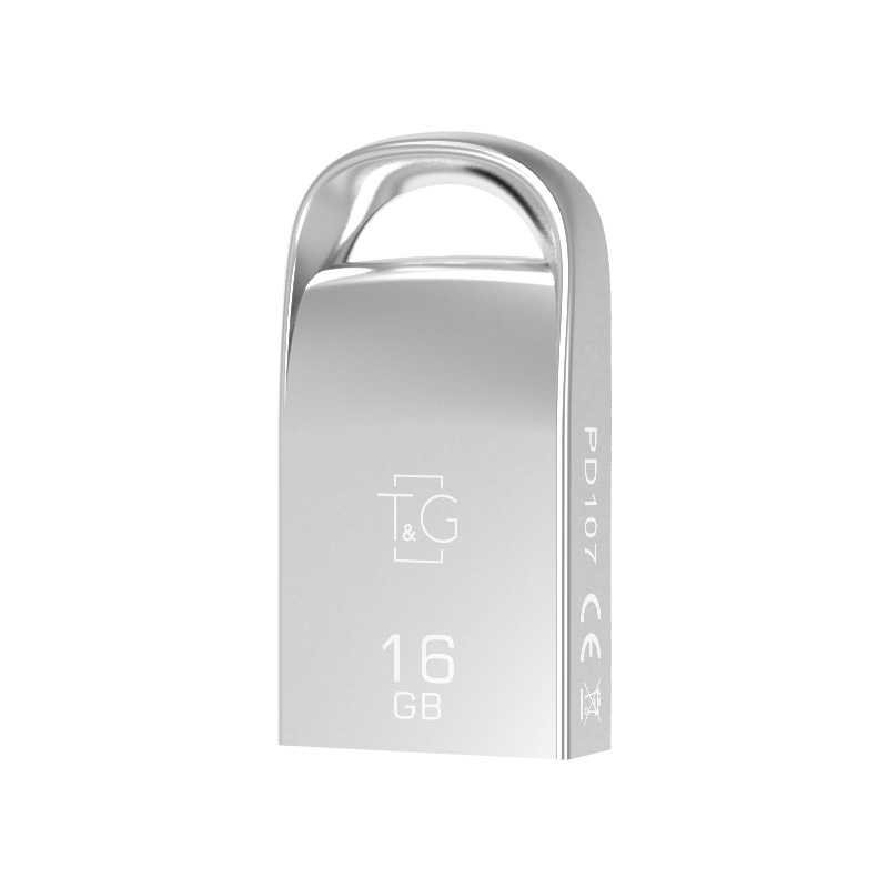 Флешка T&G USB Metal mini design (model 107) 8GB 12389