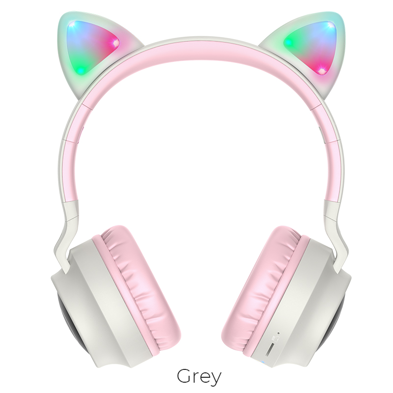 Наушники Bluetooth HOCO Cheerful Cat ear W27 11869