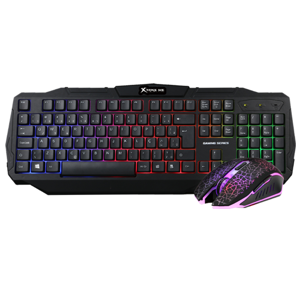 Набор Gaming Combo 2-in1 XTRIKE ME MK-501KIT (Keyboard ENG раскладка/Mouse) 12468