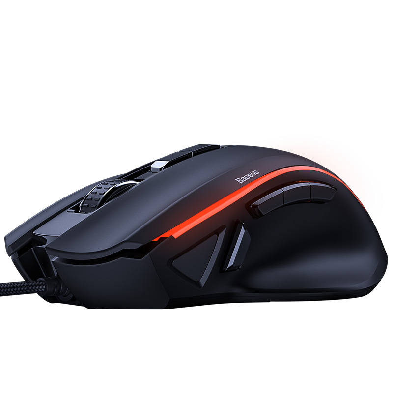 Мышь BASEUS GAMO 9 Programmable Buttons Gaming Mouse GM01 12481