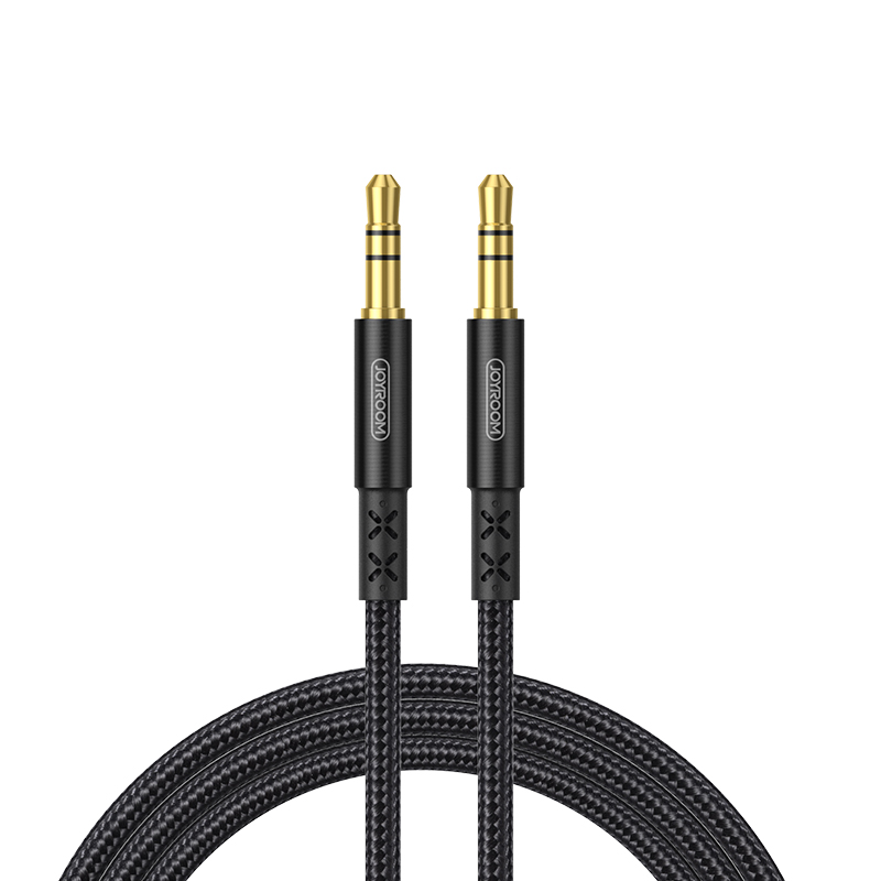 Кабель JOYROOM AUX car stereo audio cable SY-10A1 |1M| 16407