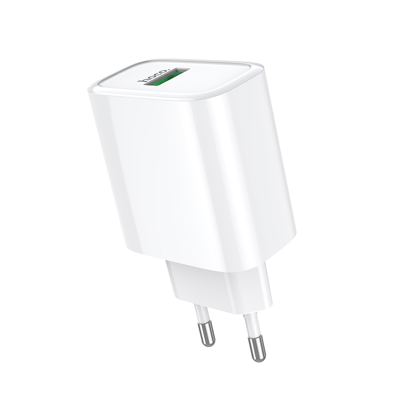 Адаптер сетевой HOCO Dynamic power fully compatible charger C69A |1USB, 4.5A, QC3.0, 22.5W| 25063