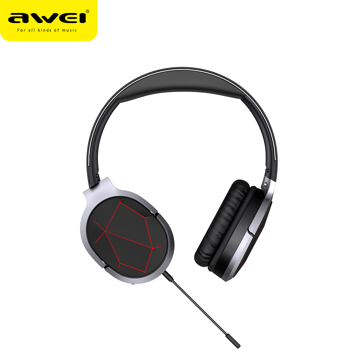 Наушники AWEI Bluetooth Gaming A799BL 11936