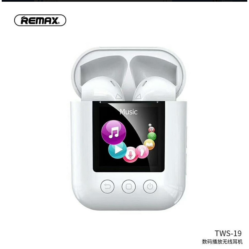 Наушники Bluetooth REMAX Digital Player TWS-19 |BT5.0, IPX4| 11951