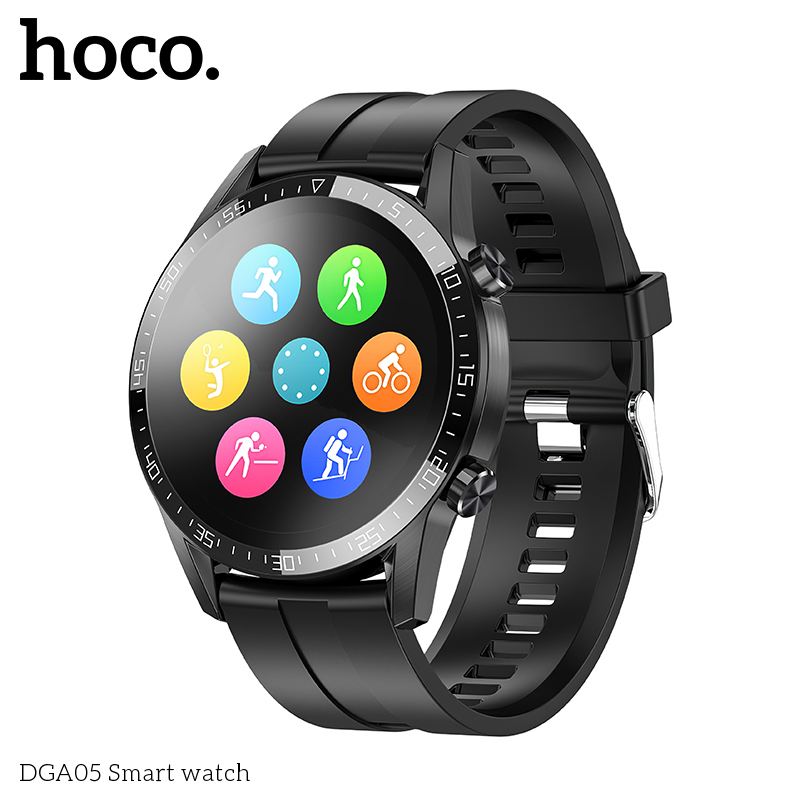 Smart Watch HOCO Health Moving DGA05 |Track, HeartRate, IP68| 12738